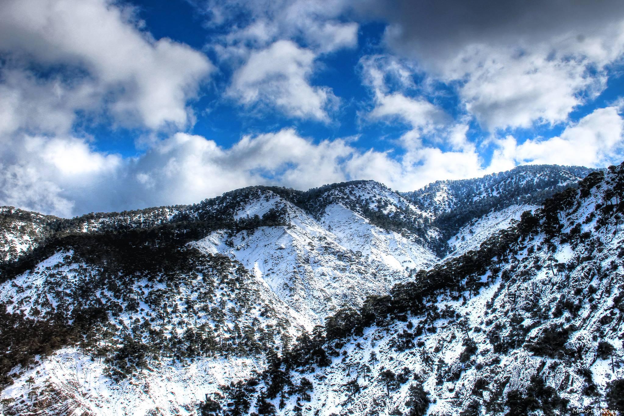 Trodos'tan Kar Manzaraları galerisi resim 5