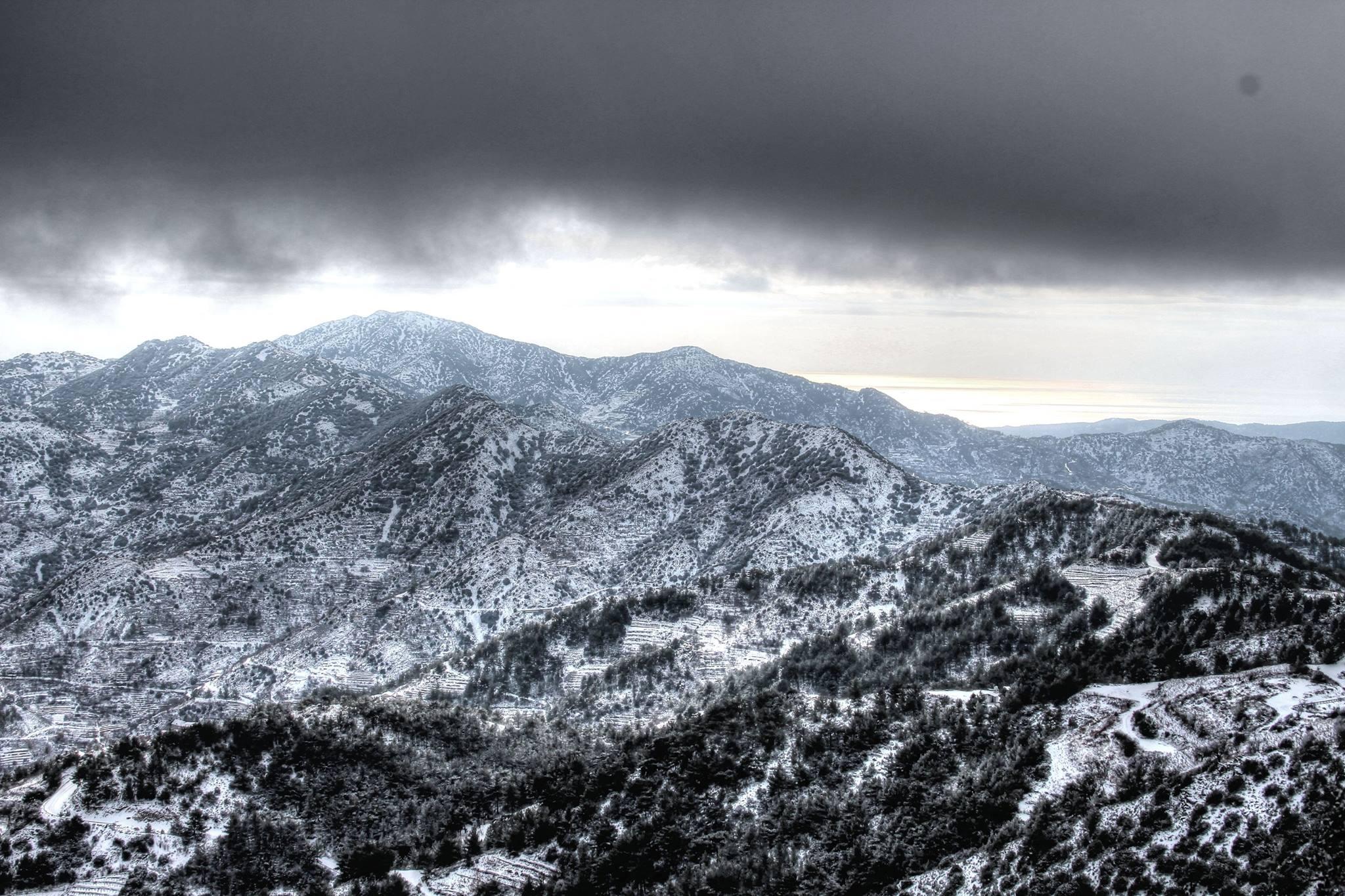 Trodos'tan Kar Manzaraları galerisi resim 7
