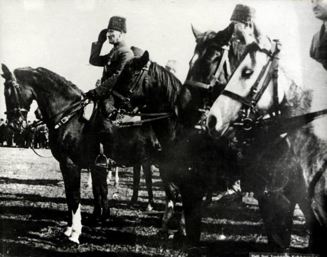 Atatürk ve Büyük Taarruz'un bilinmeyen fotoğrafları galerisi resim 6