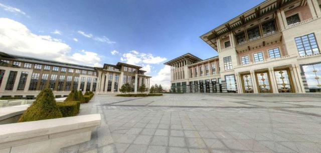 Cumhurbaşkanlığı Sarayı sanal tura açıldı galerisi resim 3