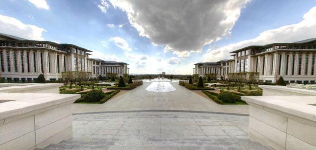Cumhurbaşkanlığı Sarayı sanal tura açıldı galerisi resim 4