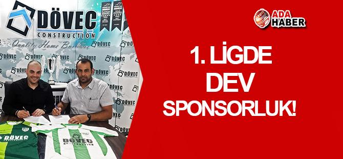 DÖVEÇ, Çanakkale Spor Kulübü'ne ana sponsor oldu