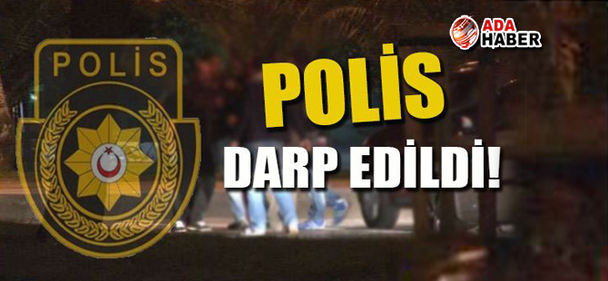 Polisi darp eden iki kişi tutuklandı