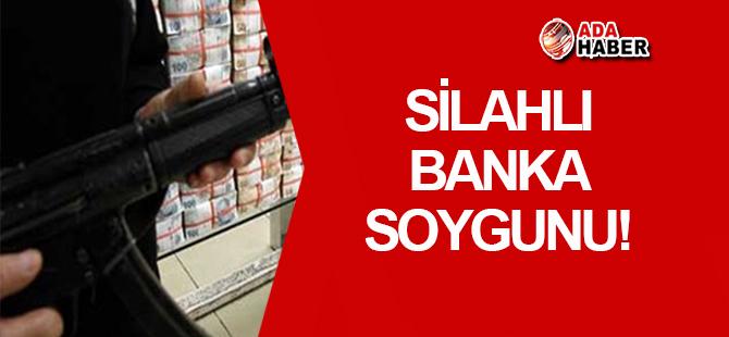 Kooperatif Bankası'nda G3 tüfeğiyle soygun