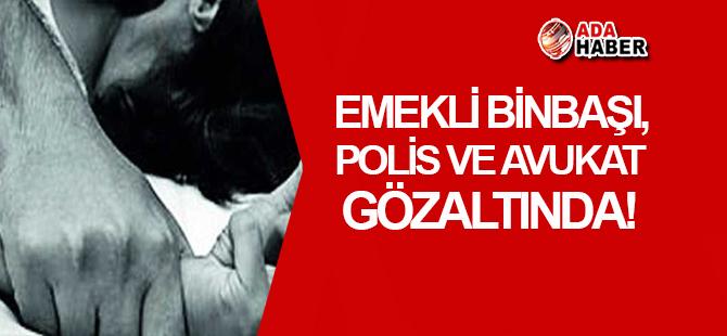 Girne'de emekli Binbaşı, polis ve avukat gözaltında!
