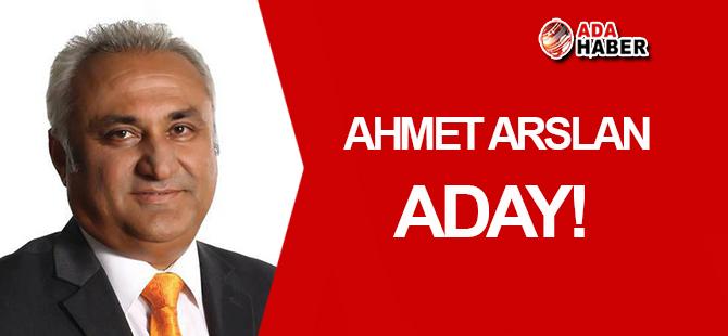 Merkez Kaymakamı Ahmet Arslan aday!