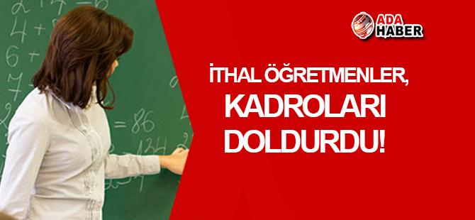 Türkiye'den getirilen öğretmenler, kadroları doldurdu!