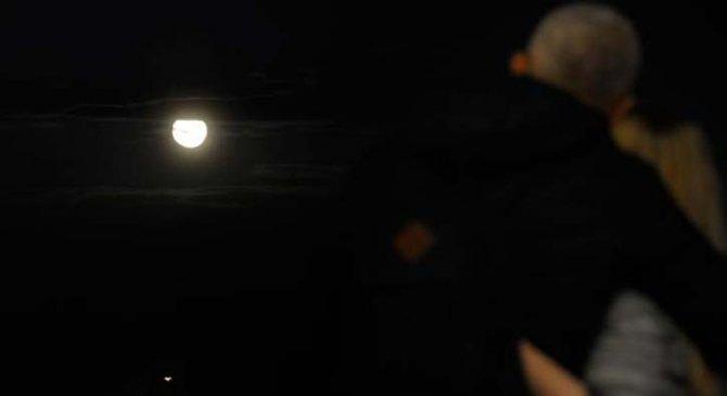 'Süper Ay' çıplak gözle izlendi