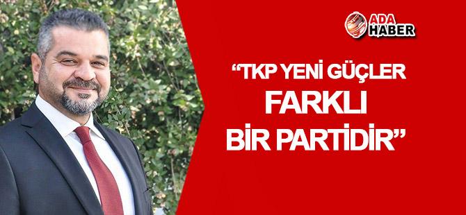 """Aykutlu: """"TKP, farklı bir partidir"""""""