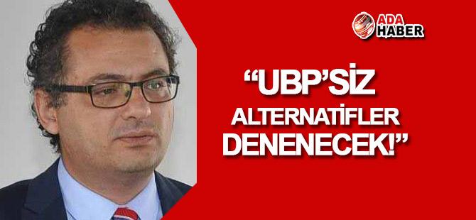 """Erhürman: """"CTP, UBP'siz alternatifleri değerlendirecek!"""""""