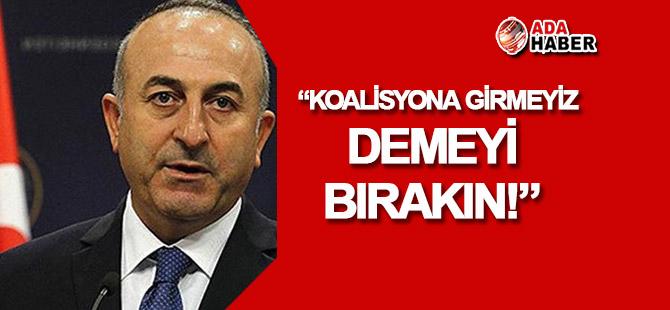 Çavuşoğlu'ndan KKTC'deki partilere gönderme!