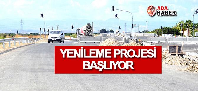 Girne-Lefkoşa Anayolu yenileniyor