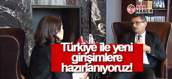 Türkiyeile yeni girişimlere hazırlık!