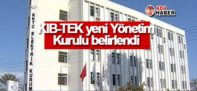 KIB-TEK yeni yönetim kurulu belirlendi