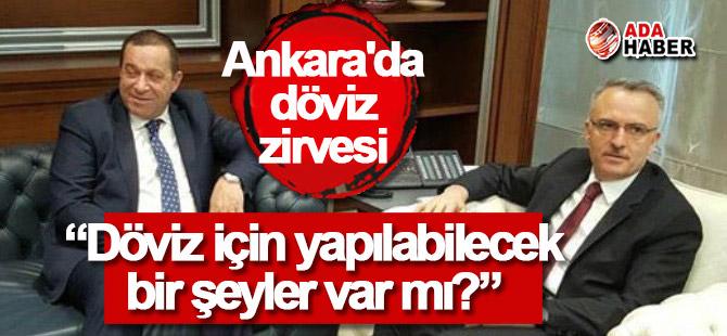 Ankara'da döviz zirvesi