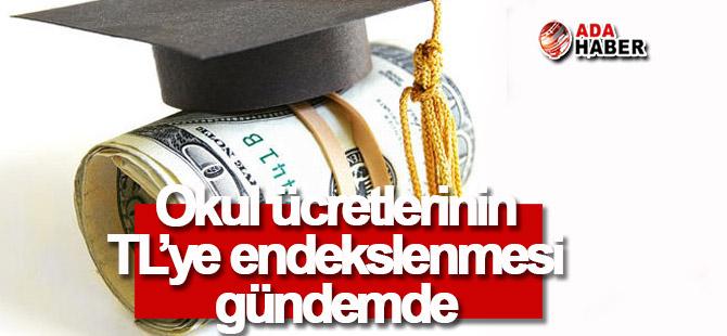 Okul ücretlerinin TL'ye endekslenmesi gündemde