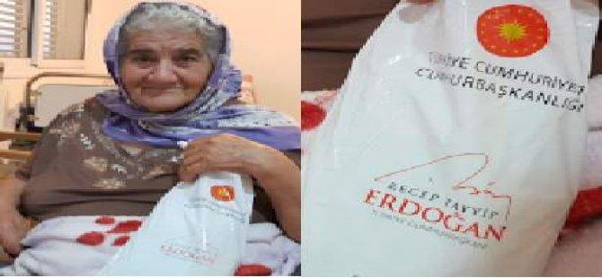 Erdoğan, KKTC'de de yaşlıların duasını aldı