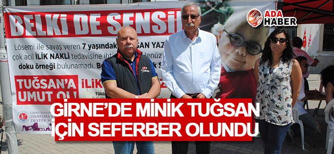 Vatandaşlar Girne'de Minik Tuğsan için seferber oldu