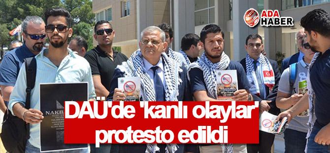 DAÜ'de 'kanlı olaylar' protesto edildi: Bahar şenlikleri yapılmayacak!