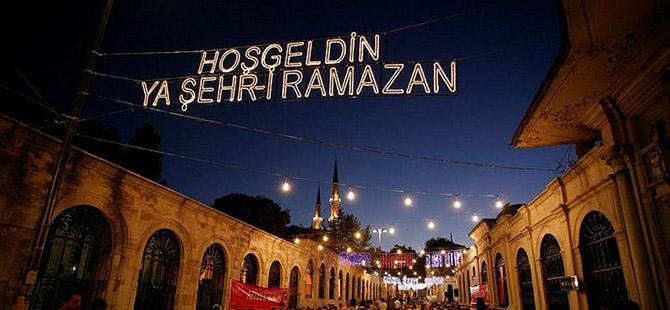 Bereket ayı Ramazan'ın gelişine saatler kaldı