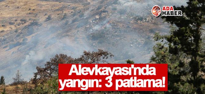 Alevkayası'nda 3 patlama!