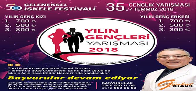 Geleneksel İskele Festivali'nde 'Gençlik Yarışması'
