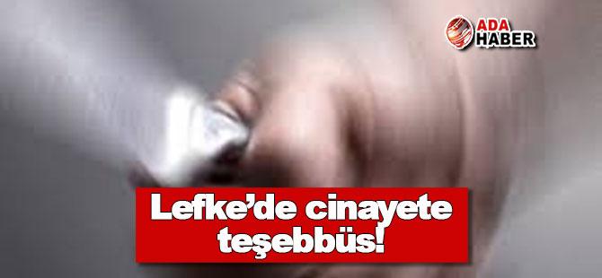 Lefke'de dehşet olay: Eşini öldürmeye çalıştı!