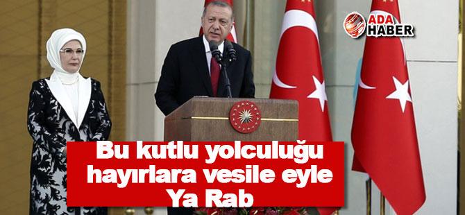 Erdoğan: Güçlü Türkiye için yola koyuluyoruz
