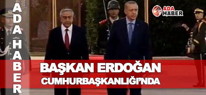 Başkan Erdoğan Cumhurbaşkanlığı'nda