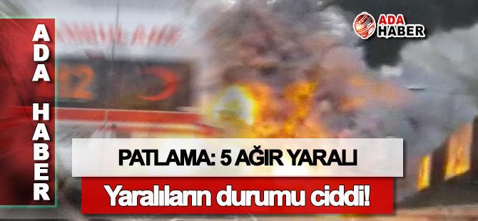 Hamitköy'de patlama: Yaralıların durumu ağır!