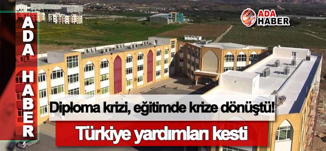 Türkiye yardımları kesti: Diploma krizi, eğitimde krize dönüştü!