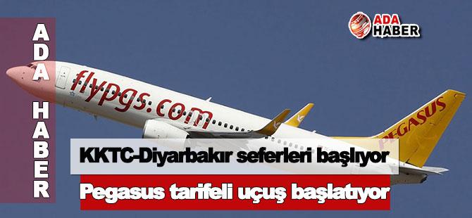 KKTC-Diyarbakır seferleri başlıyor