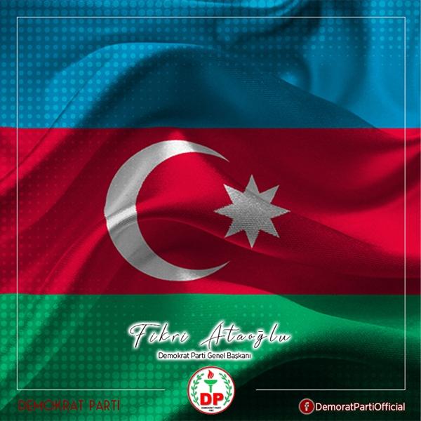 "ATAOĞLU: ""AZERBAYCAN'IN YANINDAYIZ"