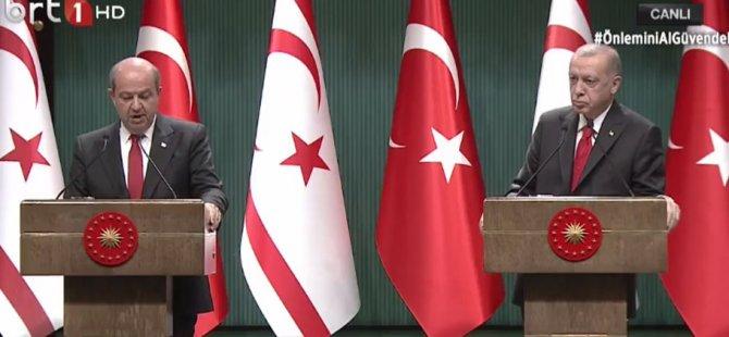 Erdoğan: Mevcut parametrelerle çözüm olmaz