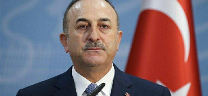 Çavuşoğlu: Kıbrıs'ta iki devletli çözümün olması gerekiyor