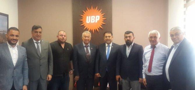 UBP'li belediye başkanlarından Ersan Saner'e tam destek