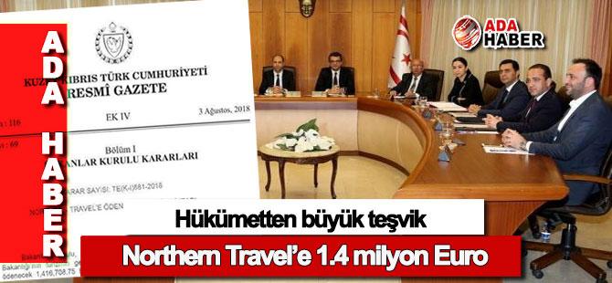 Bakanlar Kurulu kararıyla 'Northern Travel'e 1 milyon 416 bin Euro'