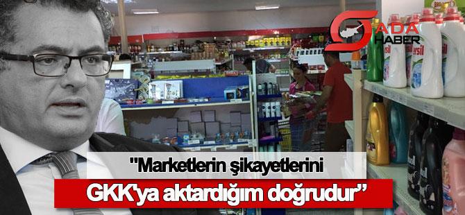 Başbakan: Marketlerin şikayetlerini GKK'ya aktardığım doğrudur