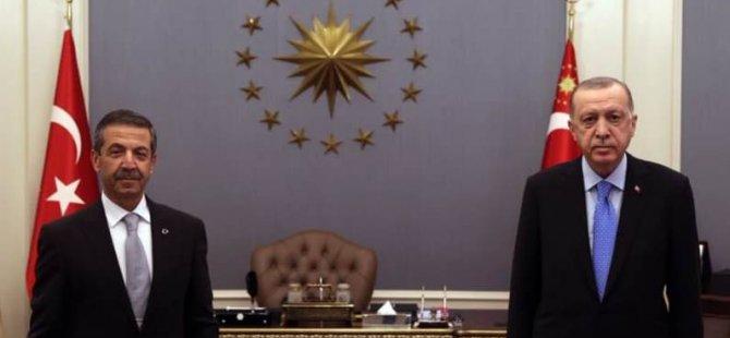 TC Cumhurbaşkanı Erdoğan, Ertuğruloğlu'nu kabul etti