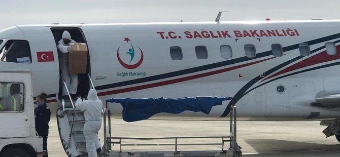 Türkiye'den 20 bin doz Sinovac Covid 19 aşısı geldi