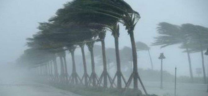Meteoroloji Dairesi'nden yağış ve fırtına uyarısı