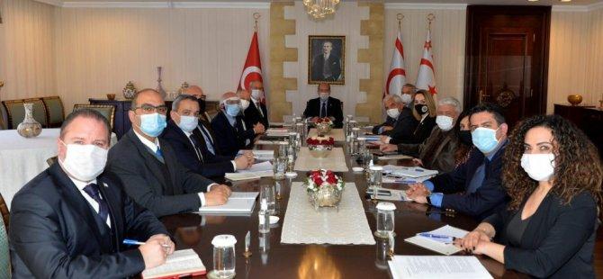 5+BM gayri resmi görüşme öncesi Cumhurbaşkanlığı'nda hazırlık toplantısı yapıldı