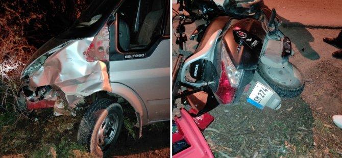 Gazimağusa'da feci kaza! 1 kişi hayatını kaybetti