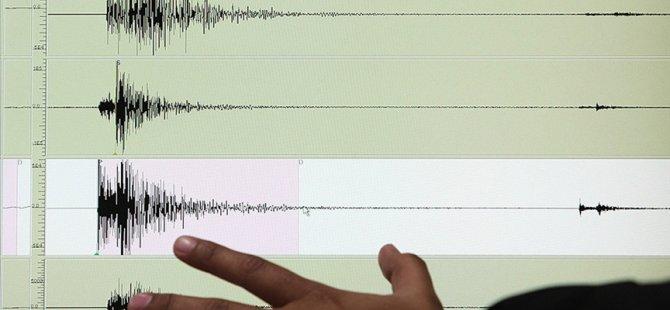 Larnaka açıklarında 3,6 büyüklüğünde deprem meydana geldi