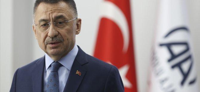 TC Cumhurbaşkanı Yardımcısı Oktay: Kıbrıs'ta da üretim altyapısını kurmak istiyoruz