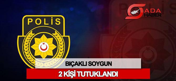 Girne'de bıçaklı soygun