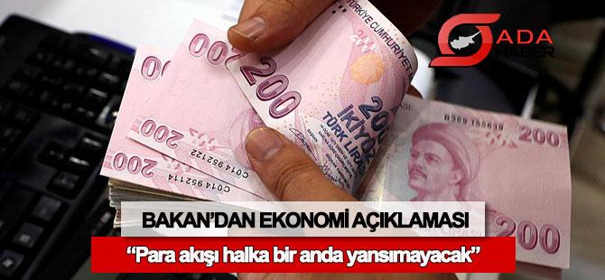 Maliye Bakanı'ndan ekonomi açıklaması