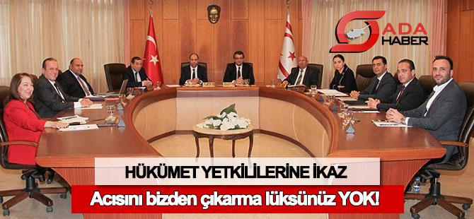 Basın-Sen'den hükümet yetkililerine ikaz!