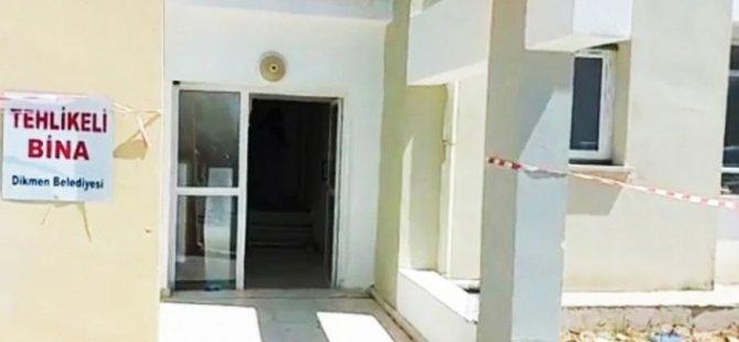 Lavinium Sitesi'ndeki apartman mühürlendi... 8 aile evsiz kaldı!