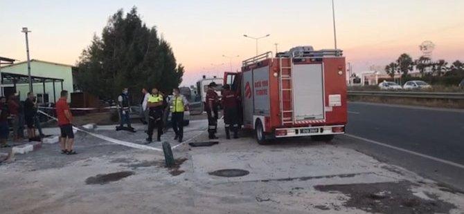 Alayköy yolunda araç içerisinde ceset bulundu!